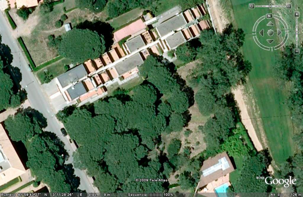 Terreny al costat del camp de golf de Pals (Costa Brava)