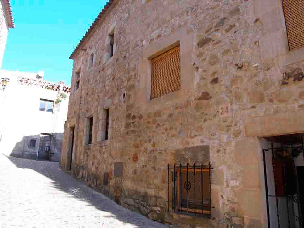 Stone house in the old Town of Pals (Costa Brava)