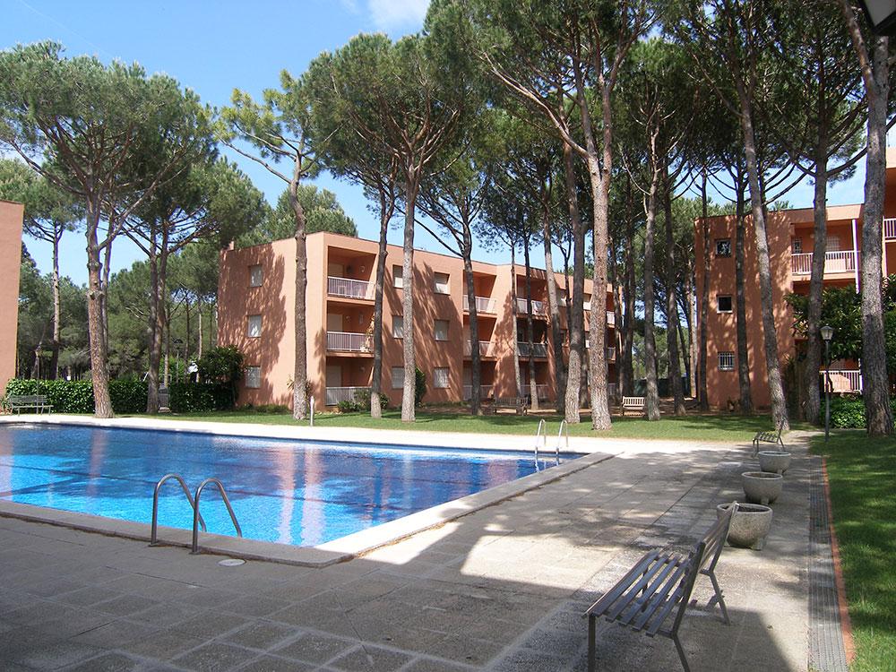 Apartament amb vistes a la muntanya a Pals (Costa Brava)